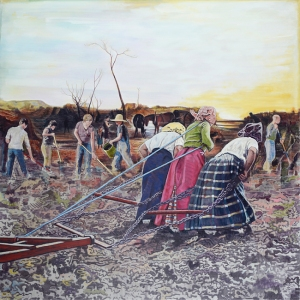 Morning with plough, by Greg Rook