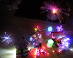 autistic son's light-up toys